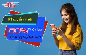 khuyen mai 50 the nap mobifone thang 9 2021